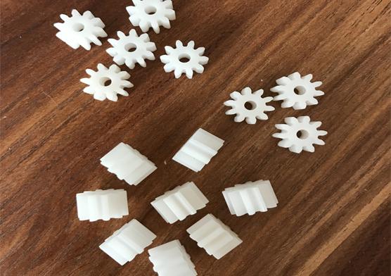 0.5模数10齿塑胶齿轮